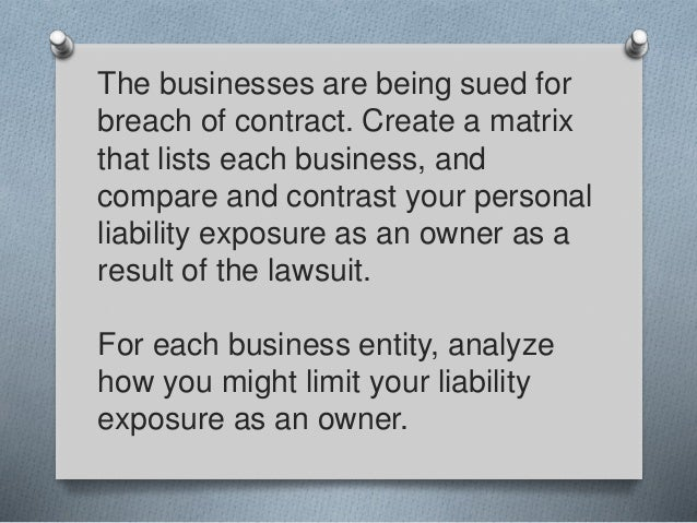 What Is Breach Of Contract In Business Lawsuits Business Litigation