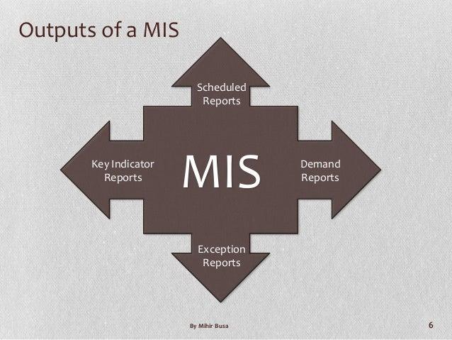 advantages of mis