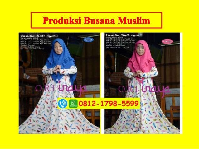 Busana Muslim Pesta Mewah Dan Elegan Wa Hp 62812 1798 5599 Tsel