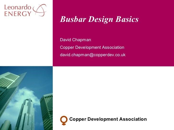 Busbar Design Basics