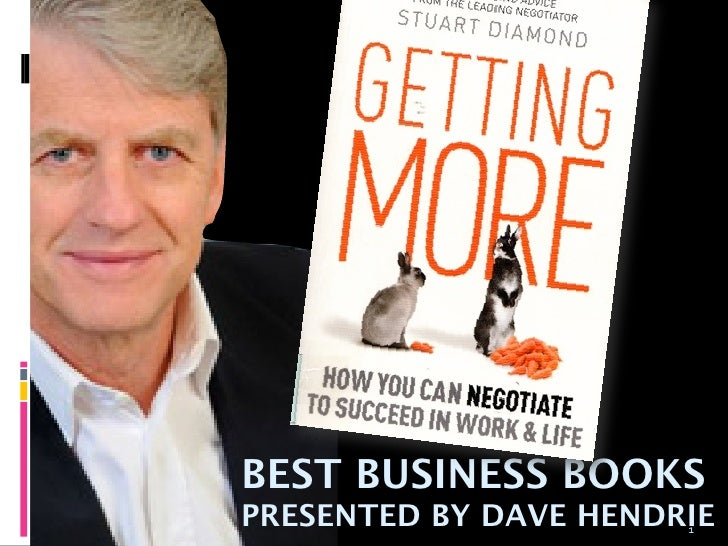 BEST BUSINESS BOOKSPRESENTED BY DAVE HENDRIE                       1