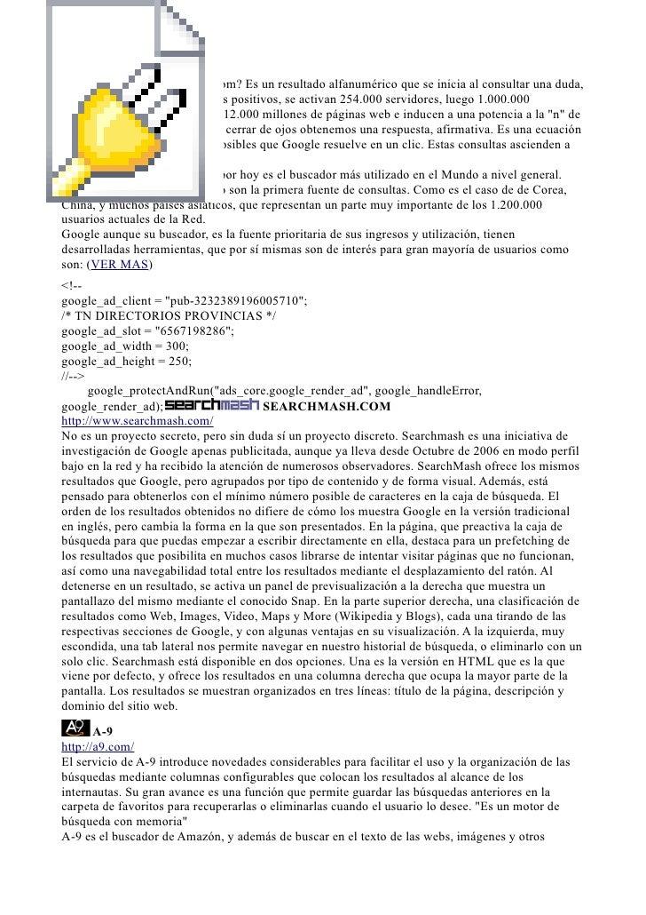 http://www.google.com Como activa su éxito google.com? Es un resultado alfanumérico que se inicia al consultar una duda, a...