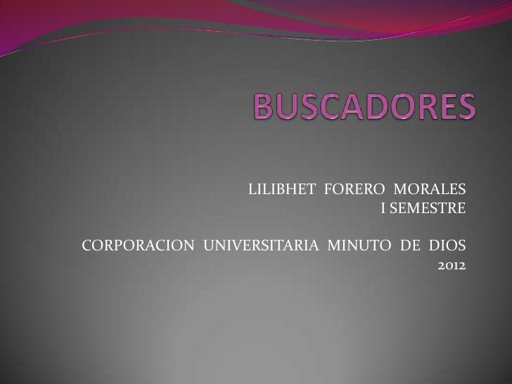LILIBHET FORERO MORALES                                I SEMESTRECORPORACION UNIVERSITARIA MINUTO DE DIOS                 ...