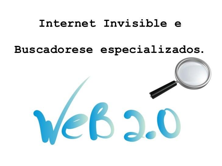 Buscadores no entorno da Web 2.0