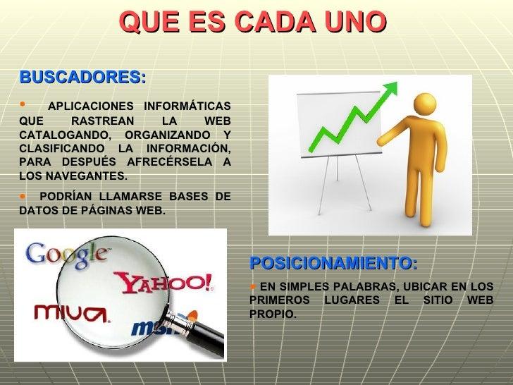 Buscadores Y Posicionamiento Web Slide 2