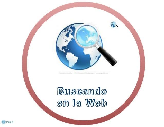 Buseando (ein [la Web