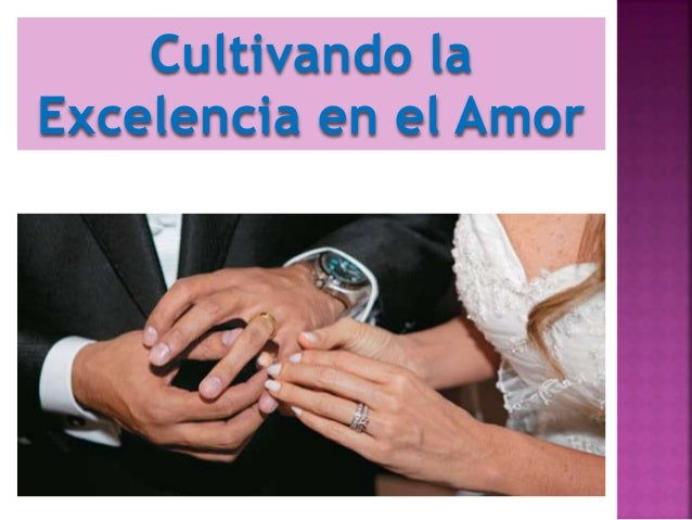 Cultivando la Excelencia en el Amor