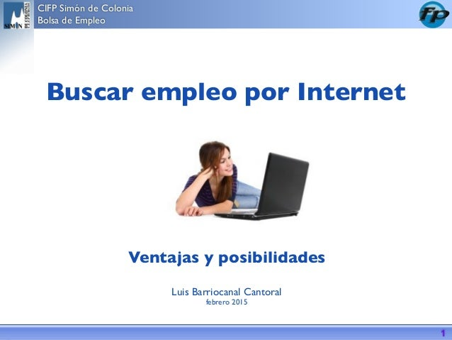 Buscar Empleo En Internet 2015