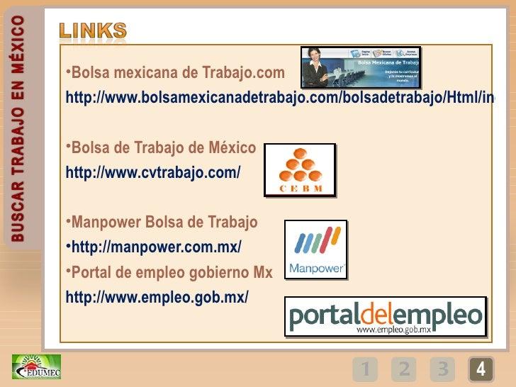 Buscar empleo en m xico mediante internet i parte cedumec for Ofertas de empleo en la linea