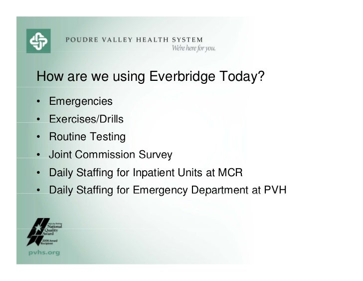 Poudre Valley Hospital S Best Practices For Emergency