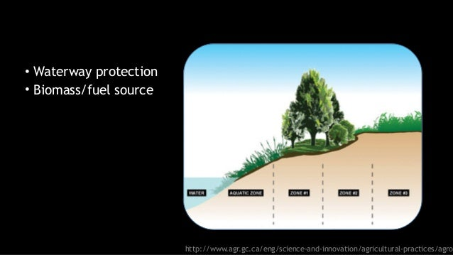 http://www.agr.gc.ca/eng/science-and-innovation/agricultural-practices/agro • Waterway protection • Biomass/fuel source