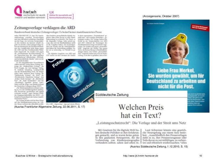 (Anzeigenserie, Oktober 2007)(Ausriss Frankfurter Allgemeine Zeitung, 22.06.2011, S. 17)                                  ...