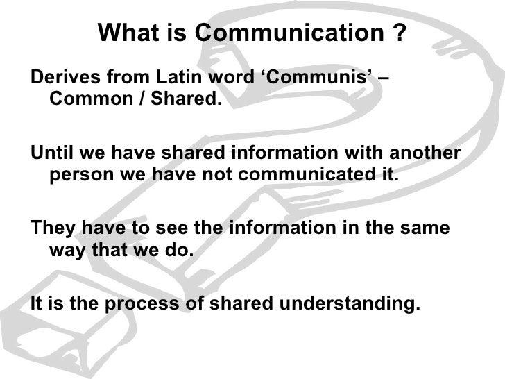Intro To Basic Business Communication