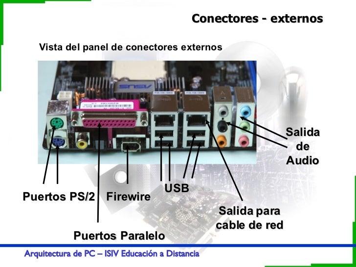 Buses Conectores Arquitectura De Pc