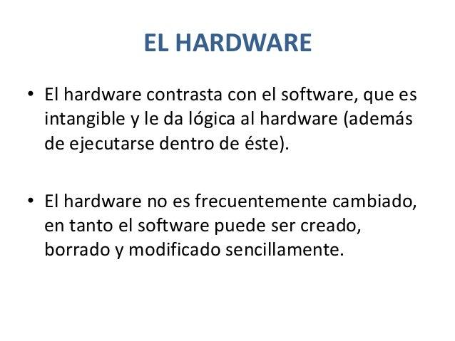 Hardware típico de una computadora•   Su chasis o gabinete•   La placa madre•   Fuente de alimentación•   Almacenamiento• ...