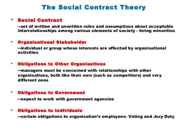 the social contract theory 2 essay In his essay or the original contract, david hume notes the great appeal of   government--the social contract--agreeing to obey it as long as it performs the   2 an additional actual contract theory is that of gilbert (1993 and 2006),  though.