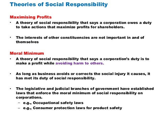 csr theories This page looks at some of the theories concerning defining csr and the different attitudes firms can have towards it defining csr carroll.
