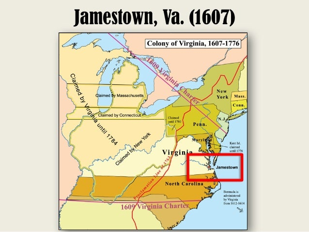 Virginia and Jamestown