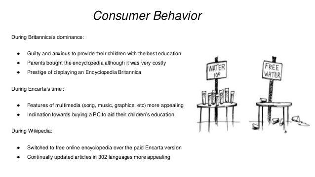 13  consumer behavior during britannica's