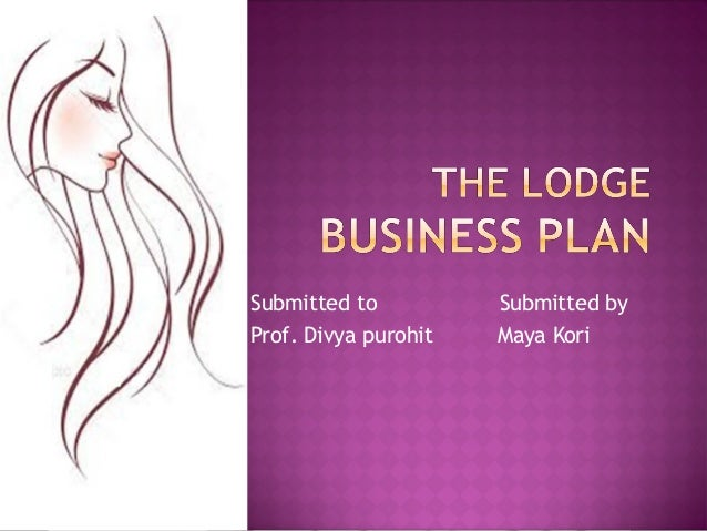 Lodge Business Plan