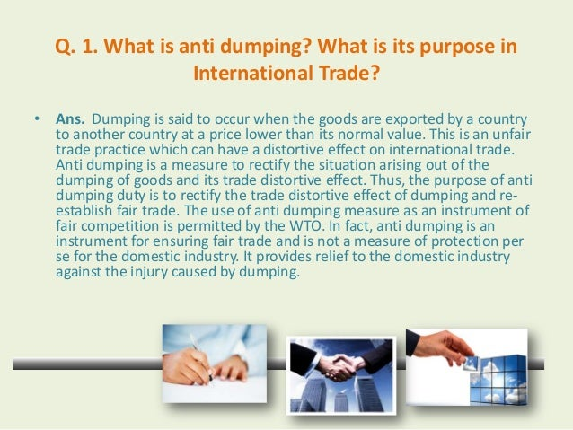 Dumping – Meaning, Types, Price Determination and Effects of Dumping