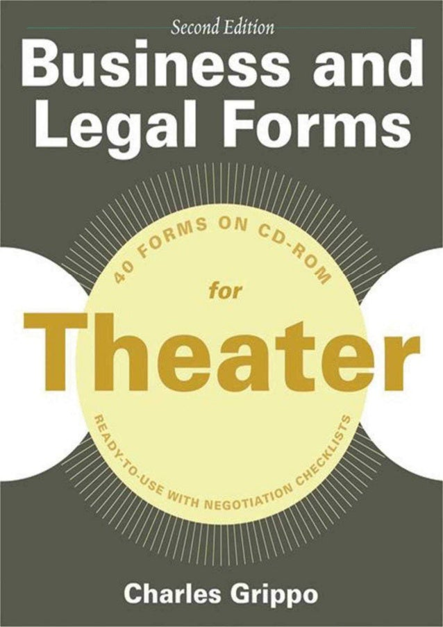 [DOWNLOAD PDF] Business and Legal Forms for Theater, Second Edition (Business and Legal Forms Series) download PDF ,read [...