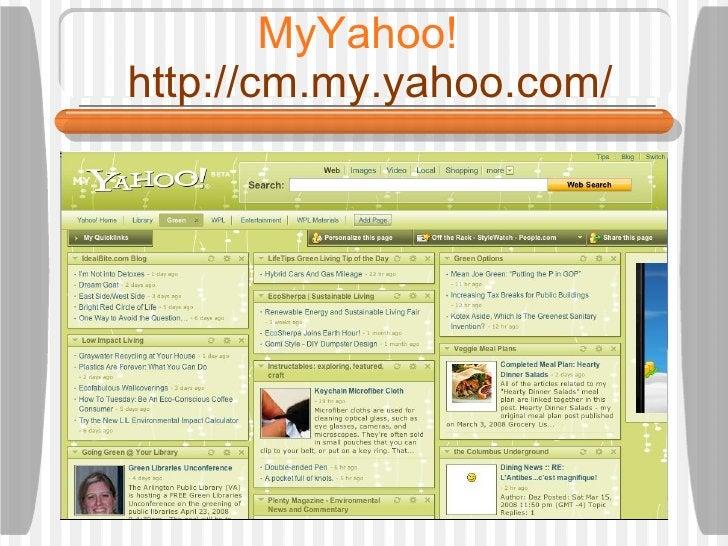 MyYahoo!    http://cm.my.yahoo.com/