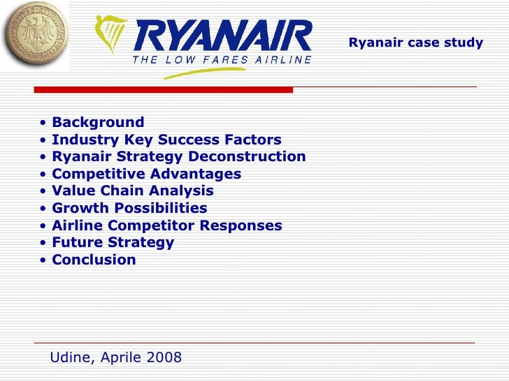 ryanair value chain analysis