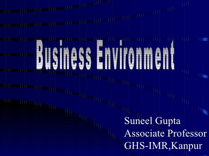 Suneel Gupta Associate Professor GHS-IMR,Kanpur