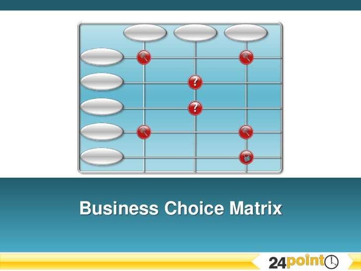 Business Choice Matrix