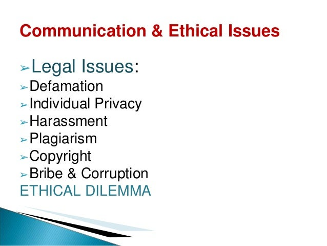 ethical issues in business communication pdf