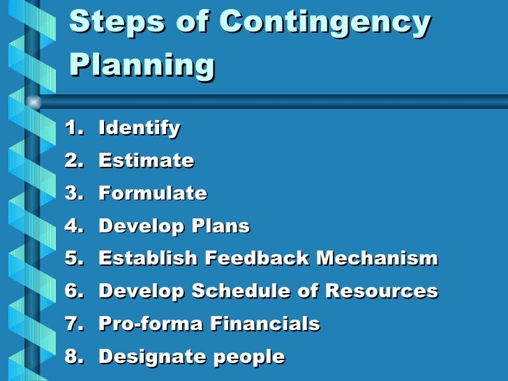 a business contingency plan How long can your business be disrupted before it becomes a problemif you  don't have a contingency plan, you are betting against success in.