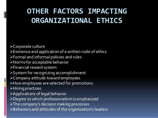 Ethical moral leadership rules of thumb