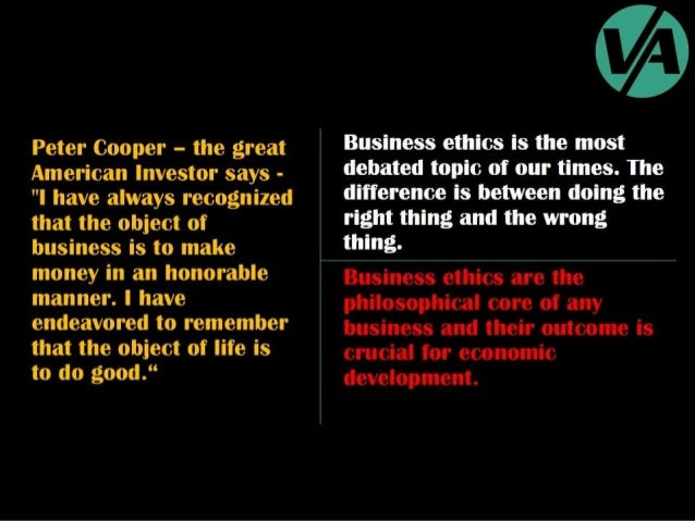 Ethical & Unethical Business Practices Slide 2