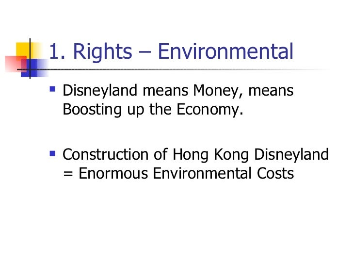 ethical issues in hong kong disneyland Start studying mgmt chapter outlines learn  codes of conduct cannot detail a solution for every ethical situation,  hong kong disneyland cultural issues.