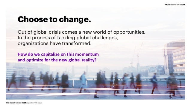 Signals of Business Change | Business Futures 2021 | Accenture Slide 2
