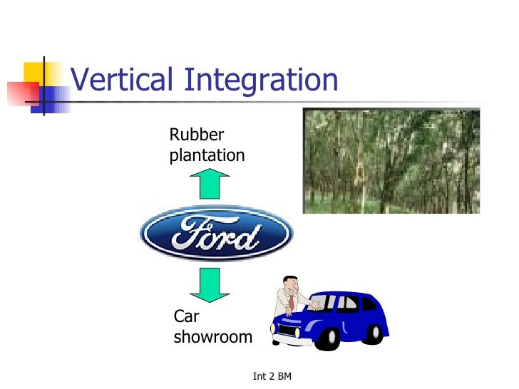 vertical coordination Vertical integration is a strategy where a firm acquires business operations within the same production vertical it can be forward or backward in nature vertical integration can help.