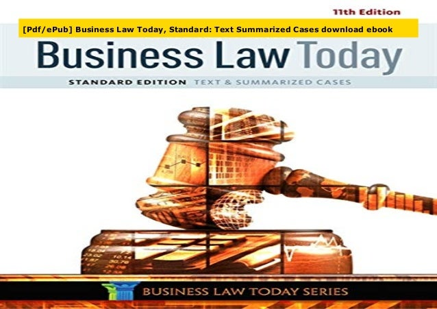 (PDF) Business-Law-in-Canada-Canadian-Edition-Canadian ...