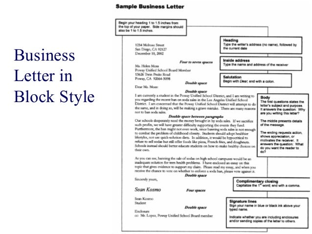 Business letters / how to write a business letter
