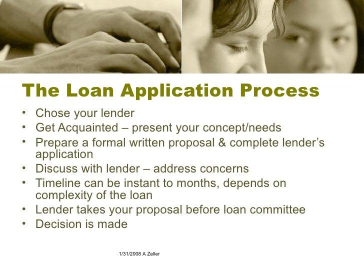 Business Loan Proposals