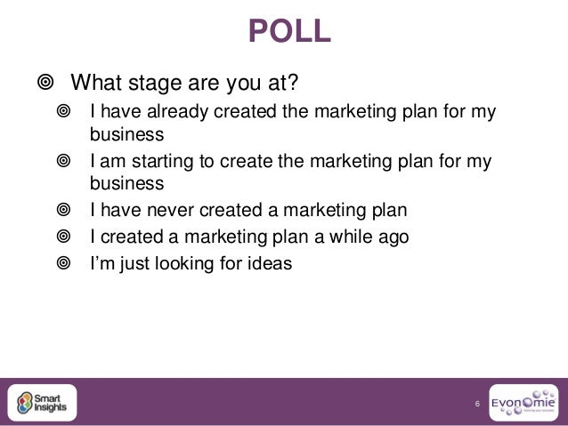 Create A Business Marketing Plan