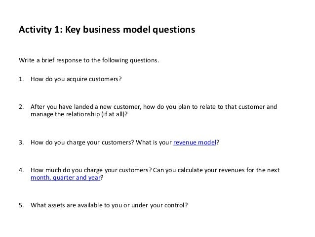 Business Model-Process-Workbook Template