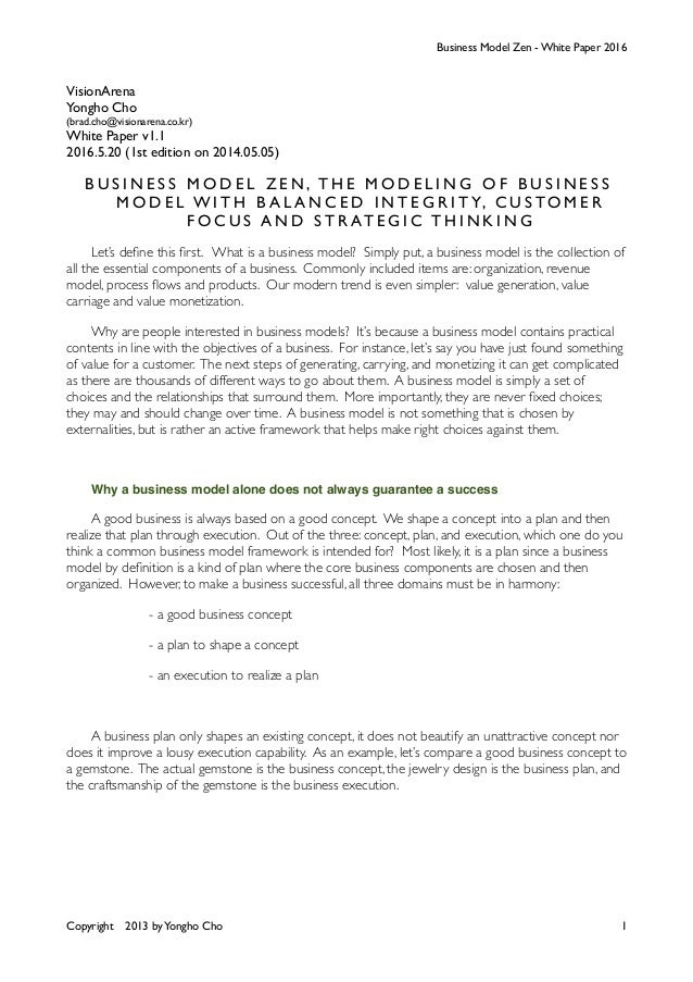 Business thesis papers
