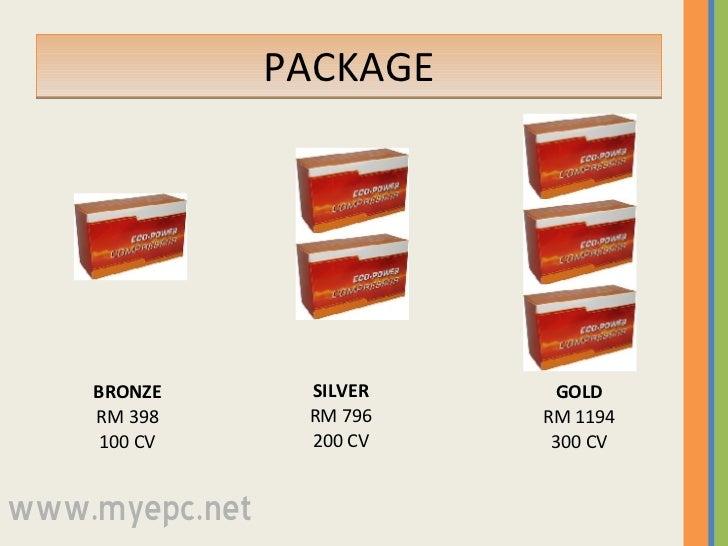 PACKAGE BRONZE RM 398 100 CV SILVER RM 796 200 CV GOLD RM 1194 300 CV www.myepc.net