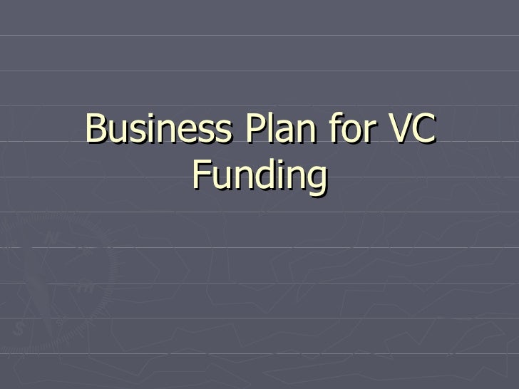Business Plan for VC Funding