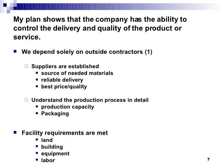 purpose of business plan pdf