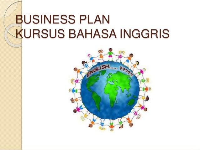 BUSINESS PLAN KURSUS BAHASA INGGRIS