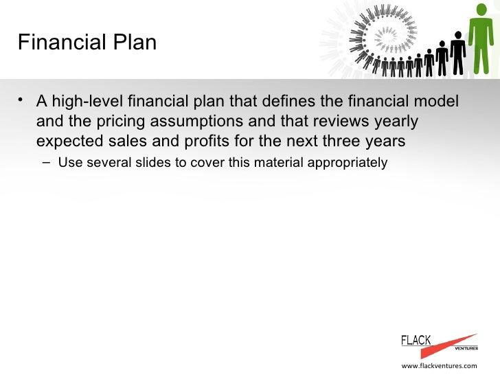 business plan presentation template a flackventures example