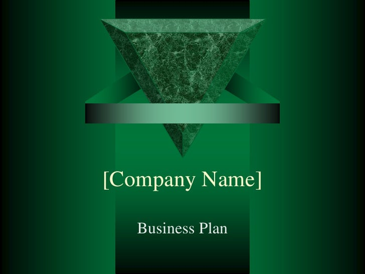 [Company Name]<br />Business Plan<br />