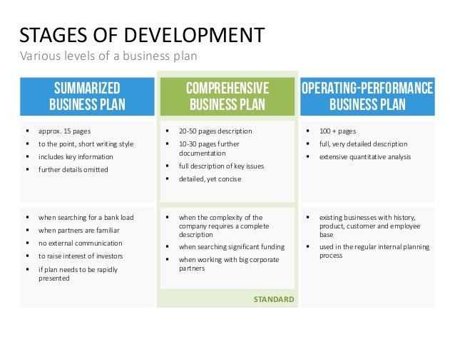 comprehensive business plan sample